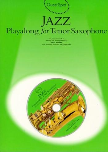 Guest Spot: Jazz: Tenor Sax: Bk&cd