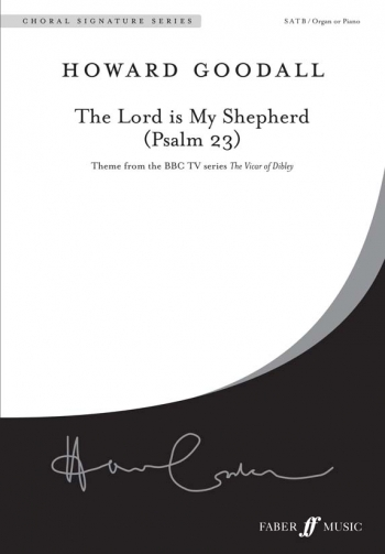Lord Is My Shepherd: Psalm 23: Vocal Satb (Faber)