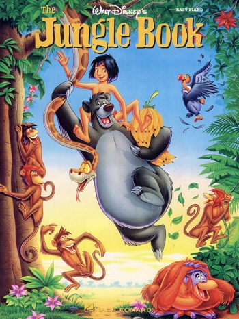Jungle Book The: Easy Piano: Disney