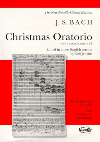 Christmas Oratorio: Bwv248: Vocal Score (Novello)