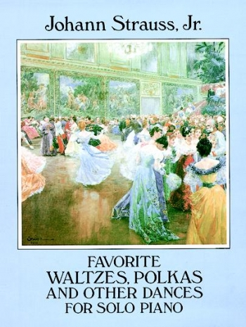 Favorite Waltzes Polkas And Other Dances: Piano  (Dover Ed)