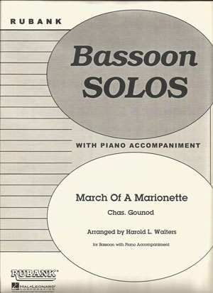 March Of A Marionette: Bassoon & Piano