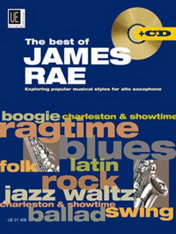 The Best Of James Rae - Saxophone & Piano - Bk&CD