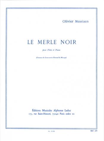 Le Merle Noir: Flute & Piano (Leduc)