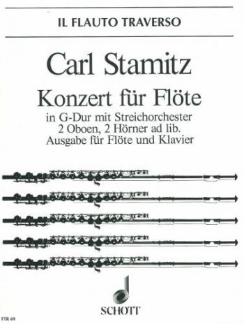 Concerto G Major: Op29: Flute & Piano (Schott)