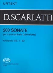 200 Sonatas: Vol.1 No1-50: Piano