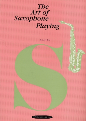 Art Of Alto Saxophone Playing: Saxophone