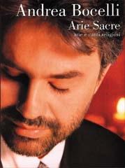 Andreas Bocelli: Arie Sacre: Piano Vocal Guitar