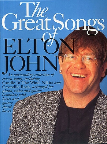 Elton John: Great Songs Of: Piano Vocal Guitar