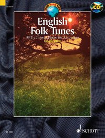 English Folk Tunes 88 Traditional Pieces: Accordion: Book & CD