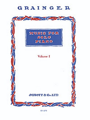 Music For Solo Piano: Vol.1: Piano (Schott Ed)