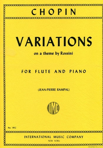 Variations On A Theme By Rossini: Flute & Piano (International)
