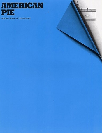 American Pie: Piano Vocal Guitar (mclean)  (single Sheet)