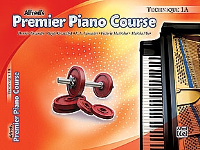 Alfred Premier Piano Course 1a: Technique
