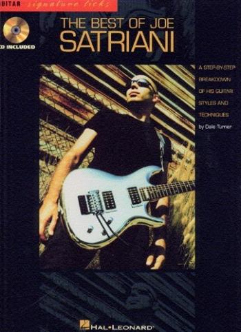 Signature Licks: Joe Satriani: Guitar: Book & Cd