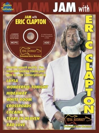 Jam With: Eric Clapton: Guitar: Book & CD