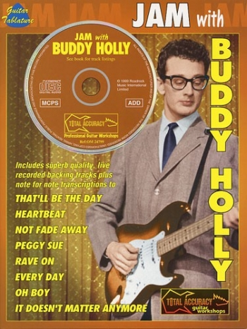 Jam With Buddy Holly: Guitar: Book & CD