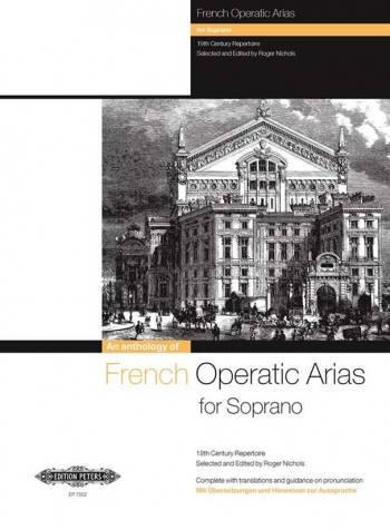French Operatic Arias For Soprano Voice