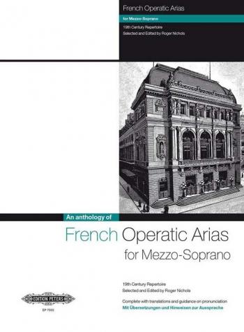 French Operatic Arias For Mezzo Soprano Voice