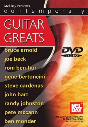Contemporay Guitar Greats: DVD