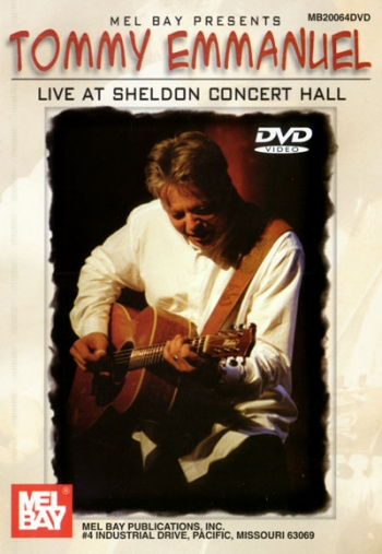 Tommy Emmanuel Live At Sheldon Hall: DVD