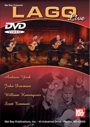 Lago Live: Guitar Quartet:  DVD