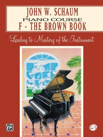 Schaum Piano Course: F: Brown