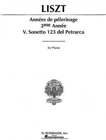 Sonetta 123 Del Petrarca: Piano (Schirmer Ed)