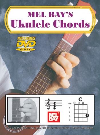 Ukulele Chords: Tutor: Book And Dvd: Mel Bay