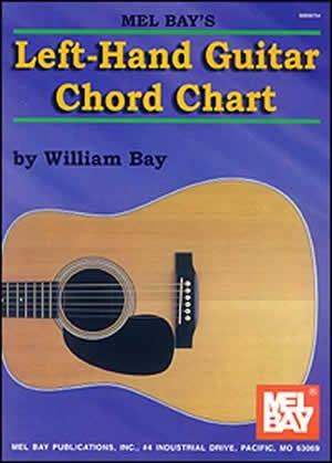 Left-Hand Guitar Chord Chart: Mel Bay (Bay)