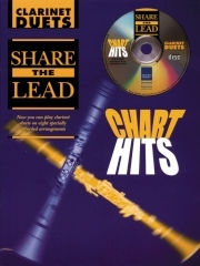Share The Lead Chart Hits: Clarinet Duet: Book & CD