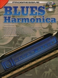 Progressive Blues Harmonica For Beginners: Book & CD (Johnson)