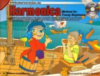 Progressive Harmonica Method For Young Beginners: Book & CD