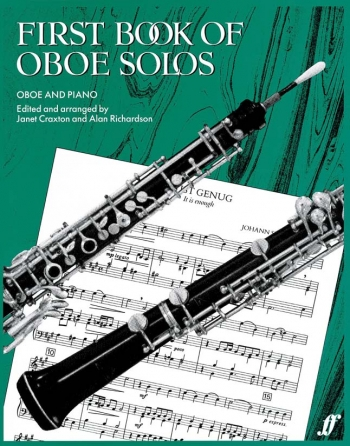 First Book Of Oboe Solos: Oboe & Piano
