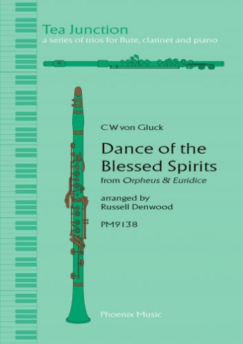 Gluck: Dance Of The Blessed Spirits: Trio:  Flute: Clarinet: Piano