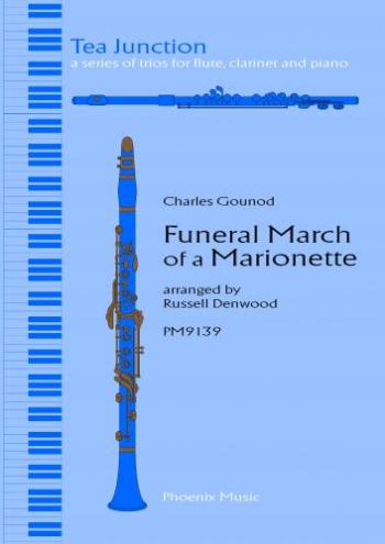 Gounod: Funeral March Of A Marionette: Trio:  Flute: Clarinet: Piano