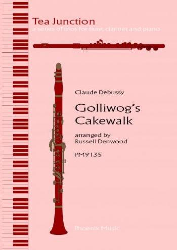 Golliwogs Cakewalk: Trio: Flute Clarinet and Piano
