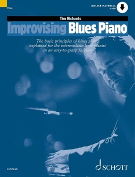 Improvising Blues Piano - Book & Cd (richards)