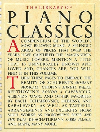 Library Of Piano Classics: Book 1