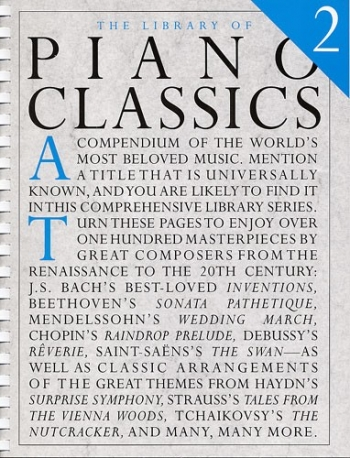 Library Of Piano Classics: Book 2