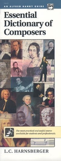 Essential Dictionary Of Composers: Textbook