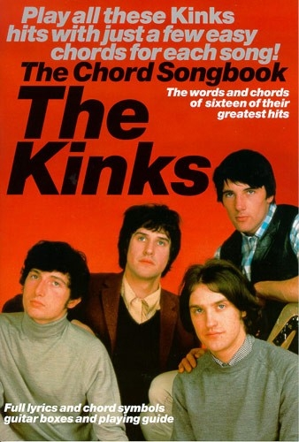 Kinks The: Guitar: Chord Songbook