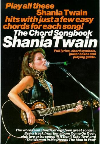 Shania Twain: Chord Songbook