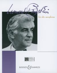 Bernstein For Alto Saxophone and Piano (Boosey & Hawkes)
