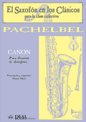 Canon: Saxophone Quartet