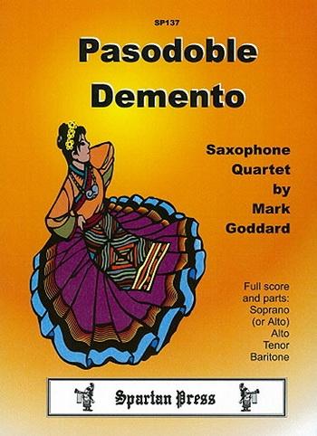 Pasodoble Demento: Saxophone Ensemble