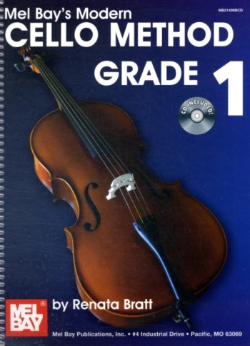 Mel Bay: 1: Modern Cello Method: Book & CD (Norgaard & Scott)