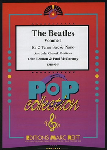 Beatles Tenor Saxophone Duets: Book 1