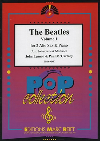 Beatles Alto Saxophone Duets: Book 1