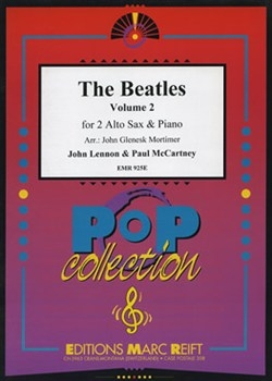 Beatles Alto Saxophone Duets: Book 2